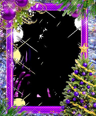Marco Para Foto Árbol De Año Nuevo Con Decoraciones Violetas 338x405 - Marco Para Foto Árbol De Año Nuevo Con Decoraciones Violetas