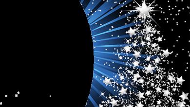 Marco Para Foto Árbol De Año Nuevo Hecho De Estrellas 390x220 - Marco Para Foto Árbol De Año Nuevo Hecho De Estrellas