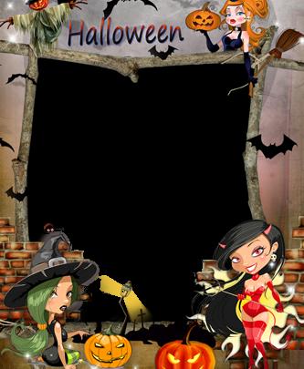 Marco Para Foto Brujas De Halloween 333x405 - Marco Para Foto Brujas De Halloween