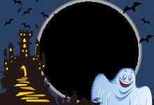 Marco Para Foto Fantasma De Halloween Sonriente 220x150 - Marco Para Foto Fantasma De Halloween Sonriente