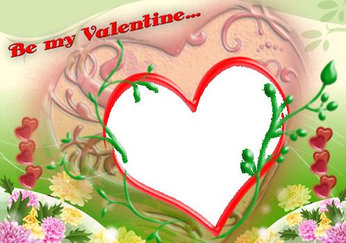 Marco Para Foto Feliz Día De San Valentin - Marco Para Foto Feliz Día De San Valentin