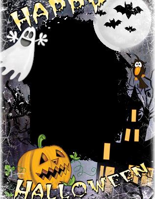 Marco Para Foto Feliz Halloween 316x405 - Marco Para Foto Feliz Halloween
