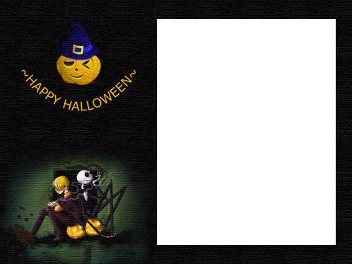 Marco Para Foto Feliz Halloween Para Usted - Marco Para Foto Feliz Halloween Para Usted