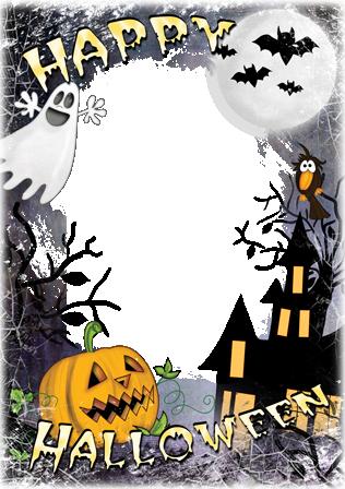 Marco Para Foto Feliz Halloween - Marco Para Foto Feliz Halloween