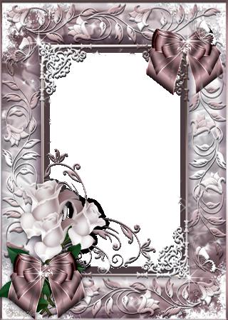 Marco Para Foto Flores Romanticas