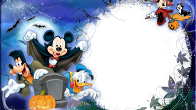 Photo of Marco Para Foto Halloween Con Mickey Y Sus Amigos