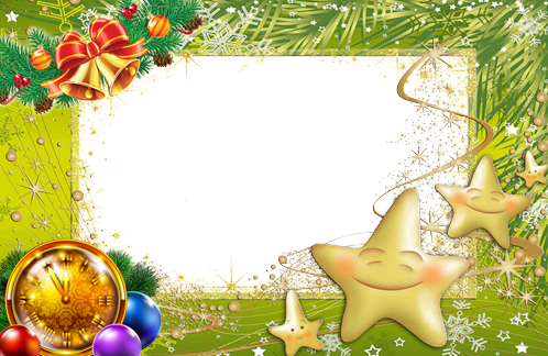 Marco Para Foto Magia De Año Nuevo - Marco Para Foto Magia De Año Nuevo