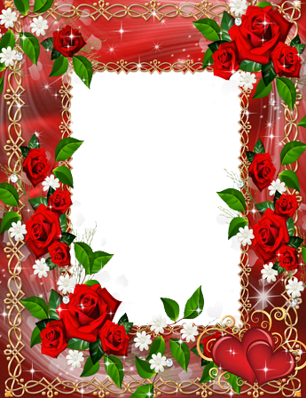 Marco Para Foto Un Collar De Flores - Marco Para Foto Un Collar De Flores