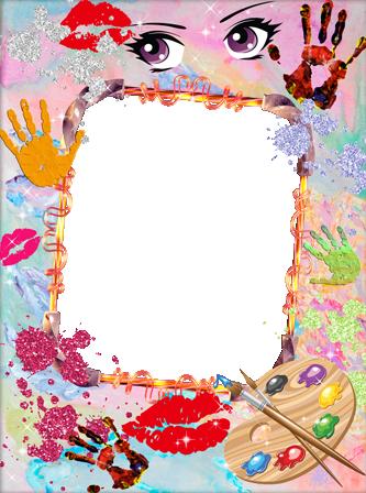 Marcos Para Foto Bebé Juega Con Pintura - Marcos Para Foto Bebé Juega Con Pintura