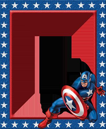 Marcos Para Foto Capitán América - Marcos Para Foto Capitán América