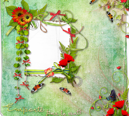 Marcos Para Foto Dibujo De Espíritu De Primavera 448x405 - Marcos Para Foto Dibujo De Espíritu De Primavera
