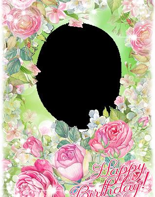 Marcos Para Foto Feliz Cumpleaños Con Las Flores Rosadas Más Bellas 318x405 - Marcos Para Foto Feliz Cumpleaños Con Las Flores Rosadas Más Bellas