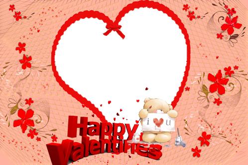 Marcos Para Foto Feliz Día De San Valentin - Marcos Para Foto Feliz Día De San Valentin