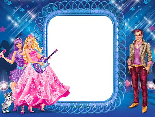 Marcos Para Foto La Linda Familia De Barbie - Marcos Para Foto La Linda Familia De Barbie