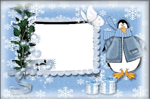 Marcos Para Foto Patos De Invierno Y Nieve - Marcos Para Foto Patos De Invierno Y Nieve