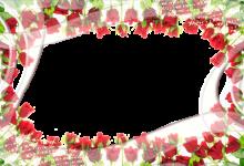 Marcos Para Foto Rodeado De Rosas Pintura 220x150 - Marcos Para Foto Rodeado De Rosas Pintura