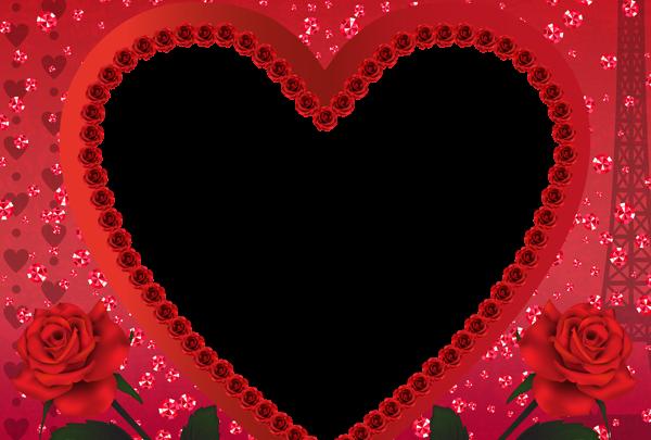 marco para foto en forma de corazon 600x405 - Marco para foto en forma de corazon
