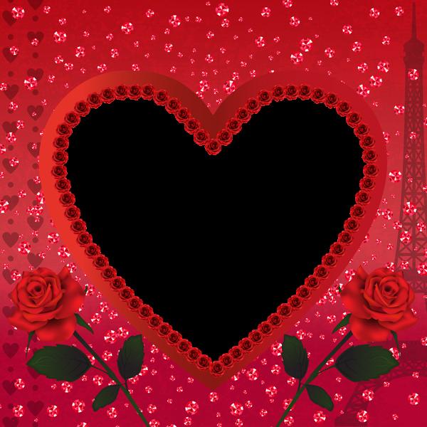 marco para foto en forma de corazon - Marco para foto en forma de corazon