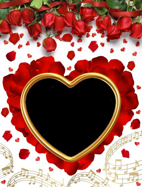marcos para fotos con rosas rojas - Marcos para fotos con rosas rojas