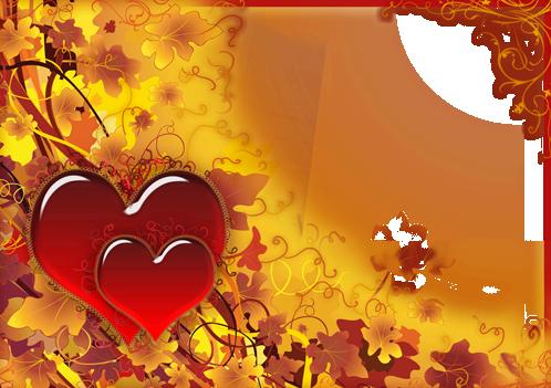 Ama y cae con grandes corazones rojos - Ama y cae con grandes corazones rojos
