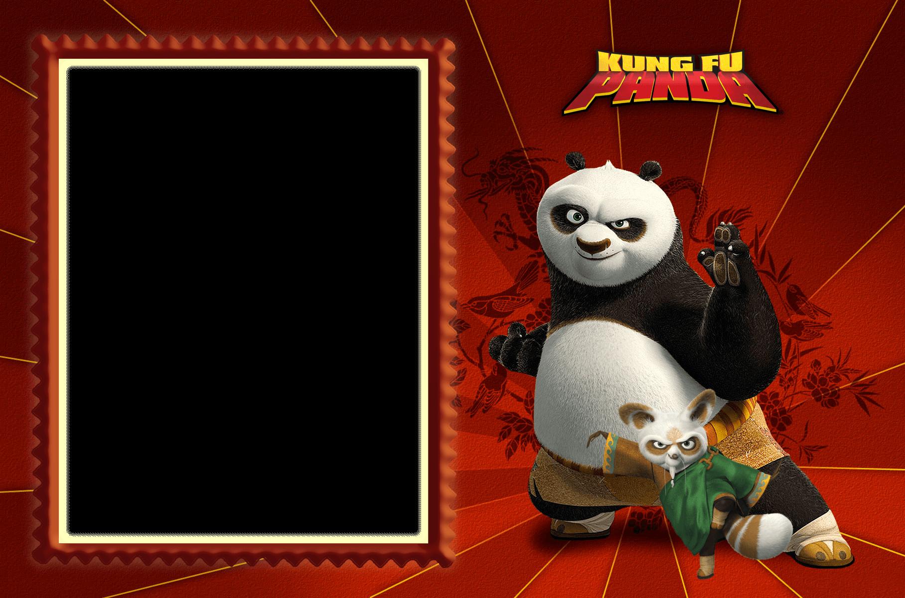 Marco De Foto Kung Fu Panda  - Marco De Foto Kung Fu Panda