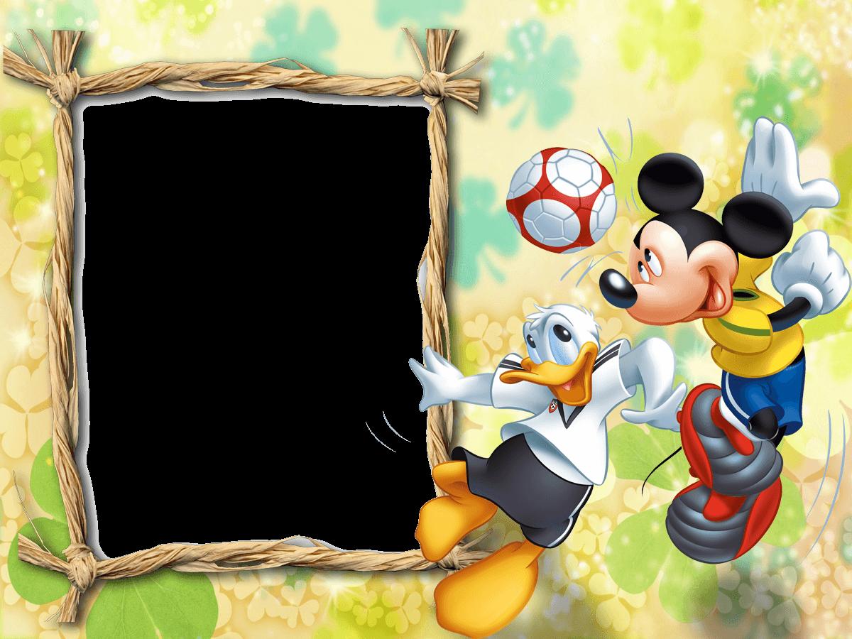 Marco De Foto Mickey Futbol - Marco De Foto Mickey Futbol