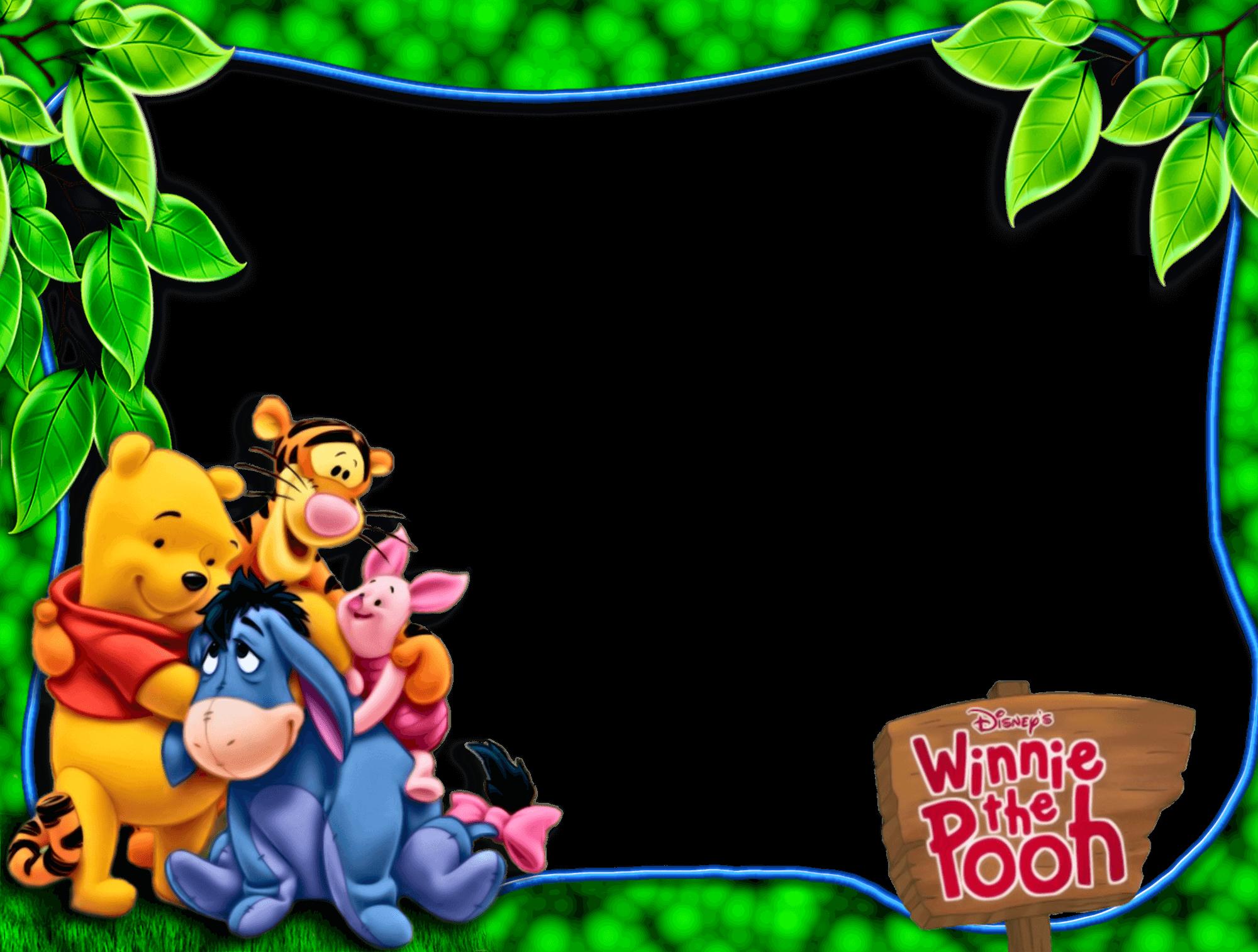Marco De Foto Winnie The Pooh d  - Marco De Foto Winnie The Pooh d