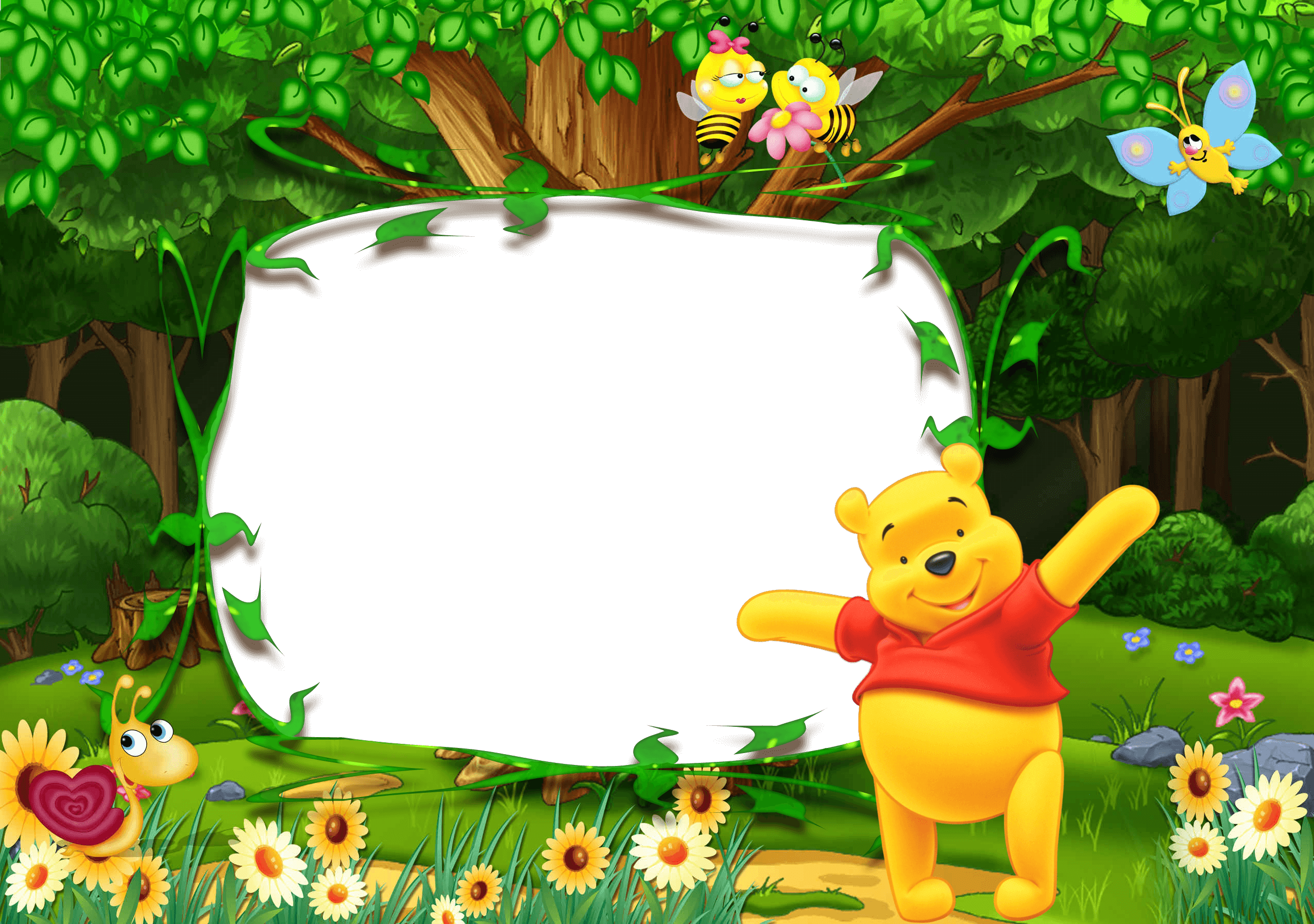 Marco De Foto Winnie The Pooh f  - Marco De Foto Winnie The Pooh f