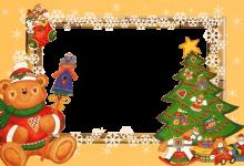 Marco Para Foto Árbol De Año Nuevo Con Un Adorable Osito De Peluche Saludos De Año Nuevo 220x150 - Marco Para Foto Árbol De Año Nuevo Con Un Adorable Osito De Peluche Saludos De Año Nuevo