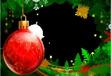 Marco Para Foto Bola Navidad Roja Con Marco Verde Hermoso Año Nuevo 220x150 - Marco Para Foto Bola Navidad Roja Con Marco Verde Hermoso Año Nuevo