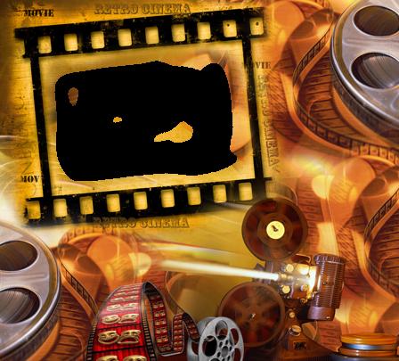 Marco Para Foto Cine Retro 448x405 - Marco Para Foto Cine Retro