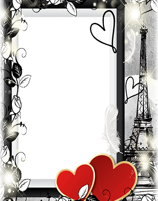 Marco Para Foto Corazones Románticos De San Valentín 318x405 - Marco Para Foto Corazones Románticos De San Valentín