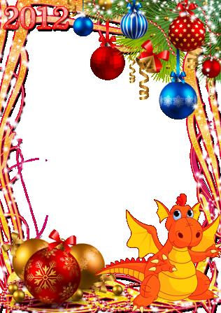 Marco Para Foto Decoraciones Y Campanas De Año Nuevo - Marco Para Foto Decoraciones Y Campanas De Año Nuevo
