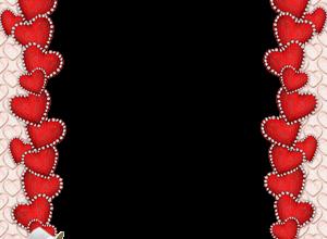 Marco Para Foto Delgados Corazones Rojos Para El Día De San Valentín 300x220 - Marco Para Foto Delgados Corazones Rojos Para El Día De San Valentín