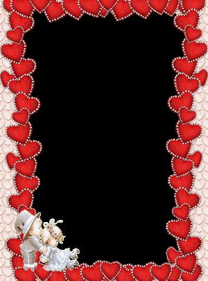 Marco Para Foto Delgados Corazones Rojos Para El Día De San Valentín 300x405 - Marco Para Foto Delgados Corazones Rojos Para El Día De San Valentín