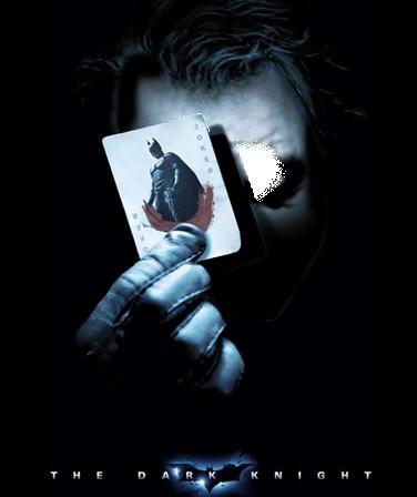 Marco Para Foto El Bromista Caballero Oscuro - Marco Para Foto El Bromista Caballero Oscuro