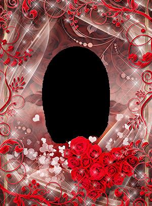 Marco Para Foto El Corazón Rojo De Rosas Es Muy Hermoso 300x405 - Marco Para Foto El Corazón Rojo De Rosas Es Muy Hermoso