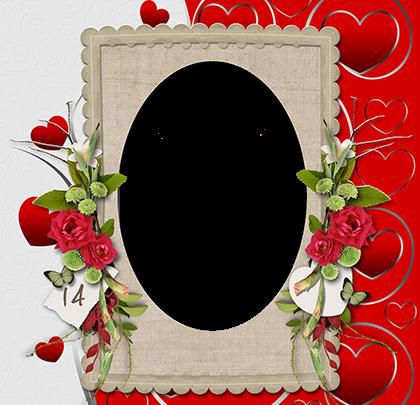 Marco Para Foto El Día De San Valentín Más Hermoso Con La Persona Que Amas 420x405 - Marco Para Foto El Día De San Valentín Más Hermoso Con La Persona Que Amas