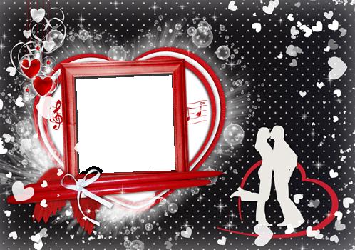 Marco Para Foto Febrero Es El Mes De San Valentín - Marco Para Foto Febrero Es El Mes De San Valentín