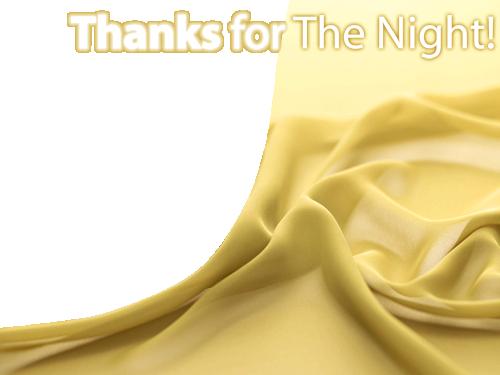 Marco Para Foto Gracias Por La Noche - Marco Para Foto Gracias Por La Noche
