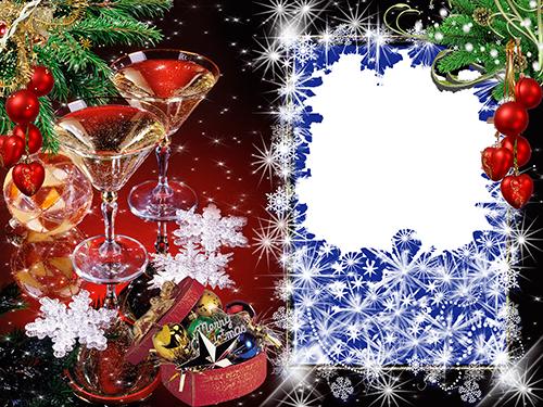 Marco Para Foto Hermosas Decoraciones Y Decoración De Nochevieja - Marco Para Foto Hermosas Decoraciones Y Decoración De Nochevieja
