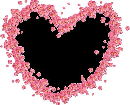 Marco Para Foto Hermosas Flores Rojas En Forma De Corazón 500x405 - Marco Para Foto Hermosas Flores Rojas En Forma De Corazón