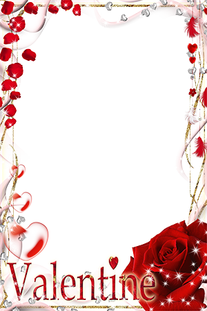 Marco Para Foto Hermoso Día De San Valentín Para Todos Los Seres Queridos. - Marco Para Foto Hermoso Día De San Valentín Para Todos Los Seres Queridos.