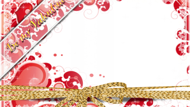 Marco Para Foto Hermosos Corazones Románticos Para El Día De San Valentín 390x220 - Marco Para Foto Hermosos Corazones Románticos Para El Día De San Valentín
