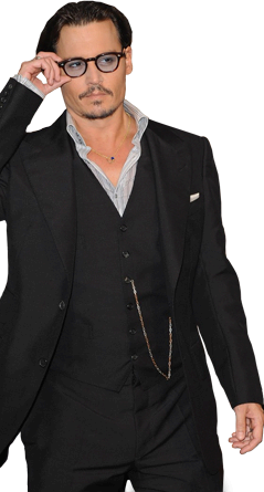 Marco Para Foto Johnny Depp - Marco Para Foto Johnny Depp
