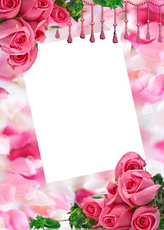 Marco Para Foto Las Rosas Y Flores Rojas Más Bellas Para El Matrimonio. - Marco Para Foto Las Rosas Y Flores Rojas Más Bellas Para El Matrimonio.