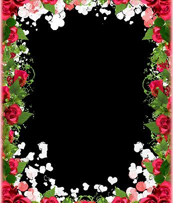 Marco Para Foto Obra Maestra De Flores Para El Día De San Valentín 346x405 - Marco Para Foto Obra Maestra De Flores Para El Día De San Valentín