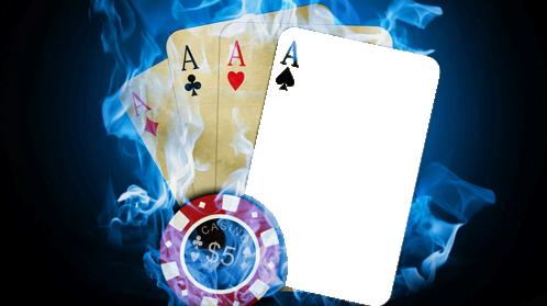 Marco Para Foto Póker Cuatro De Tipo - Marco Para Foto Póker Cuatro De Tipo