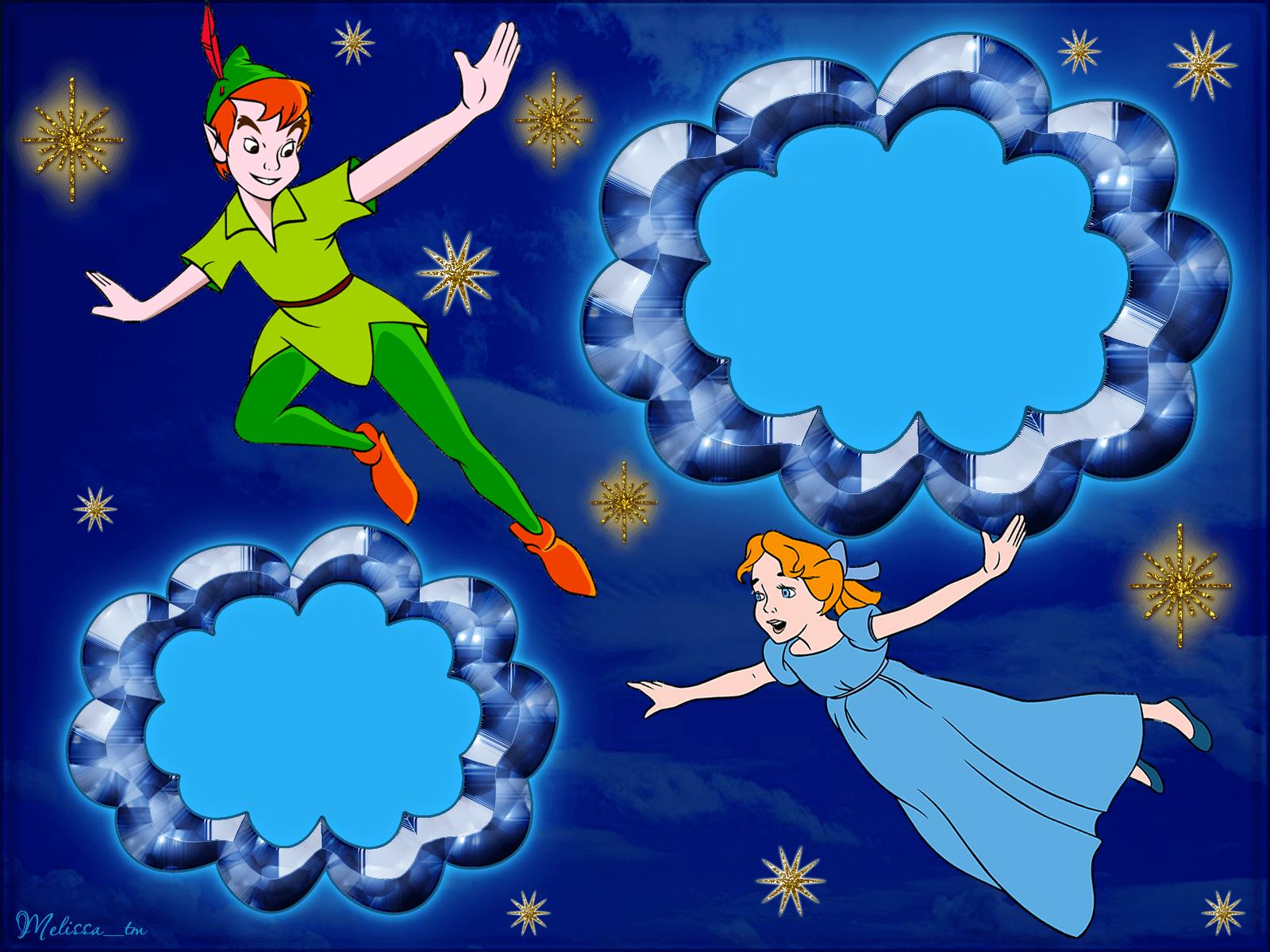 Marco Para Foto Peter Pan - Marco Para Foto Peter Pan
