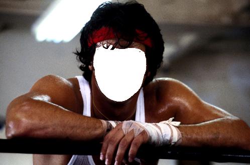 Marco Para Foto Rocky Balboa - Marco Para Foto Rocky Balboa